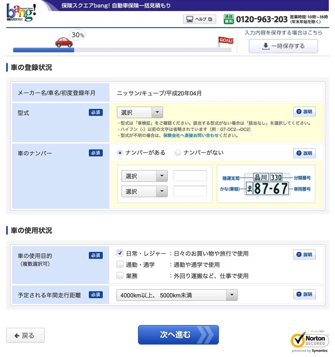 車の登録状況